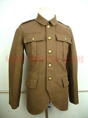"WW1 Scottish Rifleman Servie Dress SD Tunic ( the ""Cut away"" Tunic) L"