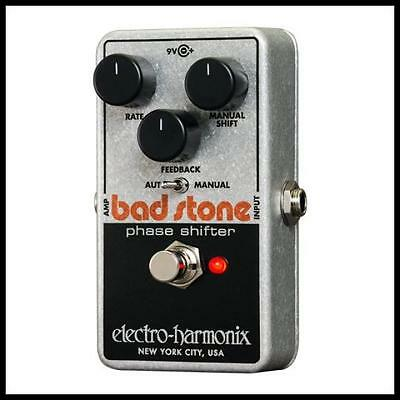 Electro-Harmonix Bad Stone Phase Shifter Guitar Effects Pedal  New