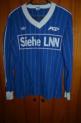 Luzern Switzerland 1980's Match Issue No Worn Football Shirt Jersey Adidas #7