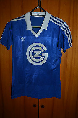 Grasshoppers Switzerland 1977/1980  No Match Worn Football Shirt Adidas #13