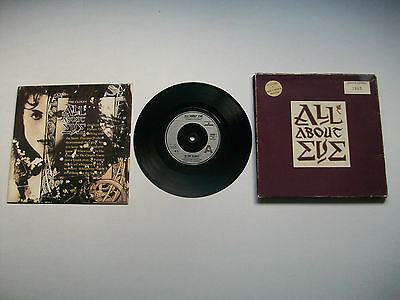 "All About Eve In The Clouds 7"" Vinyl Single In Numbered Limited Edition Box Pack"
