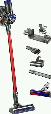 dyson v6 total clean akku staubsauger wie neu in ovp und alle zubeh r teile eur 366 00. Black Bedroom Furniture Sets. Home Design Ideas