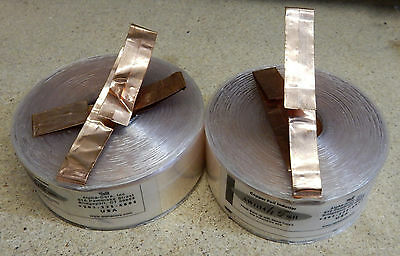 PAIR ALPHA-CORE 1.5mH AWG14 COPPER FOIL INDUCTOR FOR AUDIO