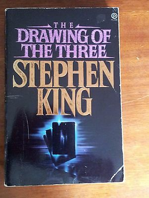 The Drawing of The Three by Stephen King  Paperback 1st edition