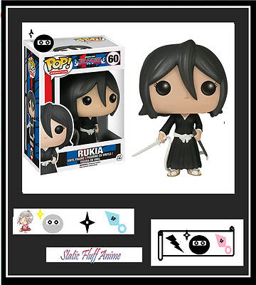 Anime Bleach - Rukia POP! Vinyl Figure Funko genuine