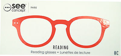 see concept Lesebrille Red Crystal soft