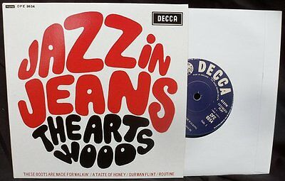 The Artwoods - Jazz In Jeans Ep. Listen To Clips