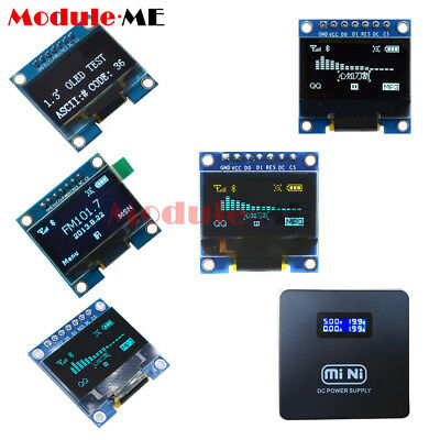 "0.96""/1.3'' SPI Serial /128X64 OLED LCD Display Screen Module Arduino UNO R3 MO"