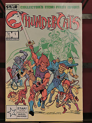 Thundercats #1 (Dec 1985, Marvel)