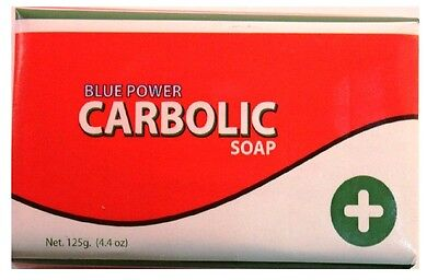 Blue Power Carbolic Soap 125g Pack of 3