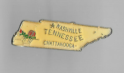 Vintage Tennessee State old enamel pin