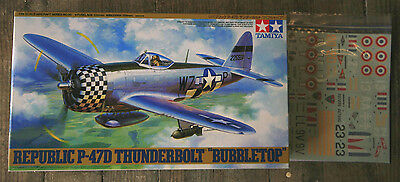 P-47 D Bubble top TAMIYA 1/48 + French Decals