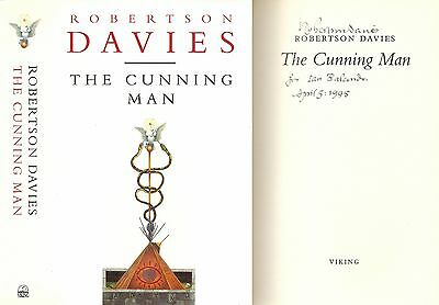 Robertson Davies - The Cunning Man - Signed - 1st/1st