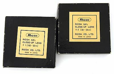 RICOH Kit 2 LENTI CLOSE-UP n.1 e n.2
