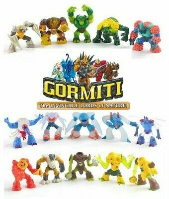 8 Random GORMITI Lords of Nature Figures
