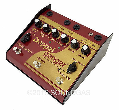 LOVETONE DOPPELGANGER Boutique Analogue Phaser/Vibrato Guitar Effect Pedal