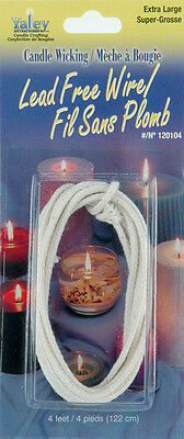 Candle Wicking Lead-Free Wire-Extra Large 4 Feet 052124111650