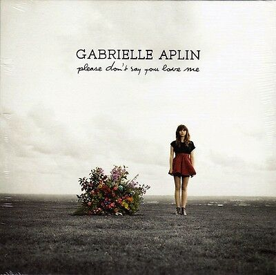 """Gabrielle Aplin - Please Don't Say You Love Me - 7"""" Red Vinyl 45 - New & Sealed"""