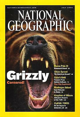 National Géographic(EN) VOL.200 NO.1 July 2001 Grizzly,...