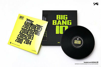 [Bigbang] Bigbang10 The Vinyl Lp: Limited Edition