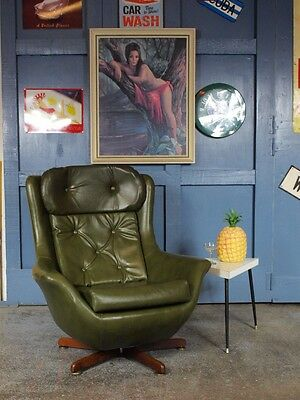 Retro mid century 50s 60s e gomme g plan tola butterfly for 70s egg chair