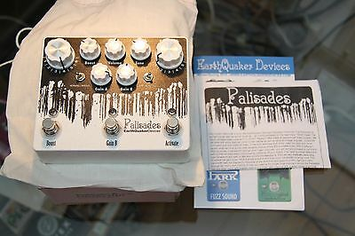 Earthquaker Devices Palisades Dual Overdrive And Boost - New in Box