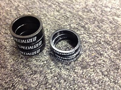 Specialized Headset spacers 3x 5mm 3x 10mm