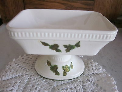 "Antique  Porcelain  Soap Dish - ""golden Rose""  - Royal Crown Japan"