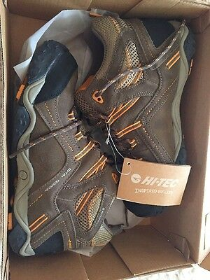 Kids Hi-Tec Waterproof Hiking Boots Jr Sz 6.5 NWT In Box