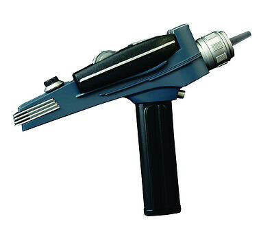 Star Trek TOS Phaser, 1/1 Replik, Sound & Light, Black Handle, Type 1 & 2