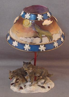Wolf Candle Lamp