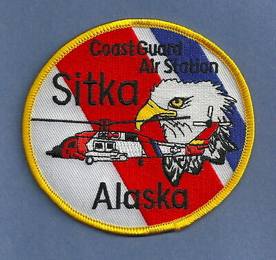 U.s. Coast Guard Sitka Alaska Search & Rescue Patch