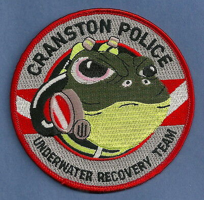 Cranston Rhode Island Police Dive Rescue Team Patch