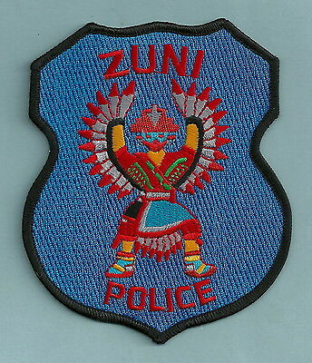 Zuni New Mexico Tribal Police Patch Indian Dancer!