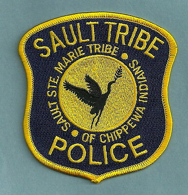 Sault Ste Marie Michigan Tribal Police Patch
