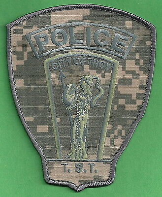 Troy Michigan Police Tactical Support Team Swat Patch