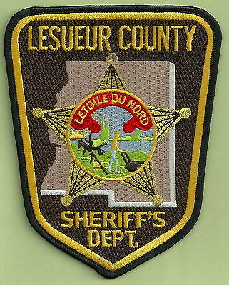 Lesueur County Sheriff Minnesota Police Patch