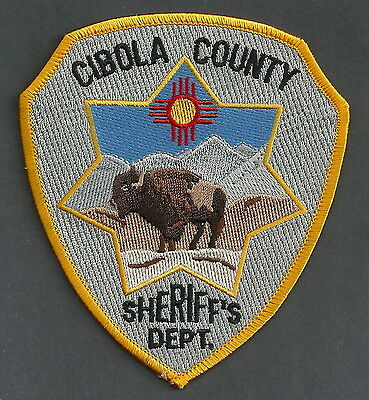 Cibola County Sheriff New Mexico Police Patch