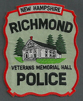 Richmond New Hampshire Police Patch