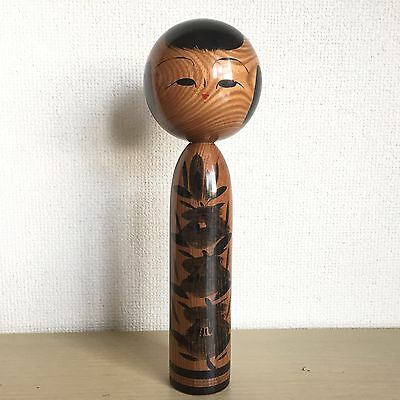 Kokeshi 24.5cm Japanese Antique Wooden doll BUe