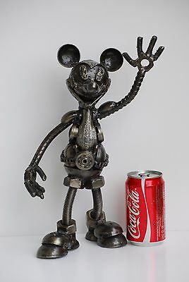 Mickey Mouse Disney Scrap Metal Sculpture Gift for Anniversary