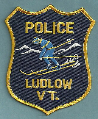Ludlow Vermont Police Patch