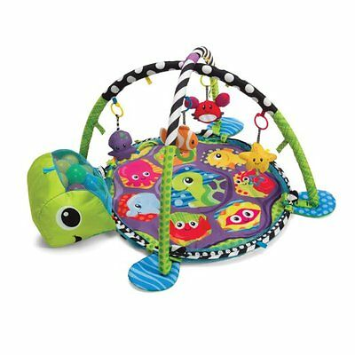 Baby Activity Play Mat Gym & Ball Pit Toddler Hanging Rattle Toys Infant Kids