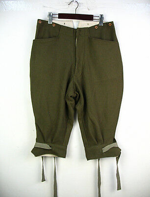 WW1 1st Australian Imperial Force dis-mounted ( infantry) Breeches L