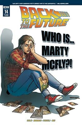 BACK TO THE FUTURE #14 IDW VF/NM Comic - Vault 35