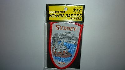 Vintage Sydney N.s.w Souvenir Woven Badges New In Package