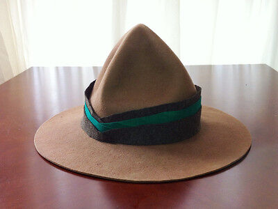 WW1 New Zealand Expeditionary Force Cavalry/Cyclist Lemon Squeezer Hat S (55-56)