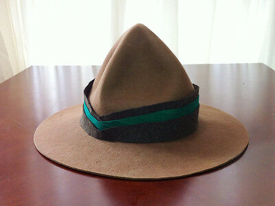 WW1 New Zealand Expeditionary Force Cavalry/Cyclist Lemon Squeezer Hat M (57-58)