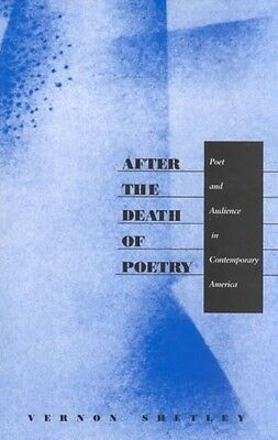 After the Death of Poetry-P by Vernon Shetley Paperback Book (English)