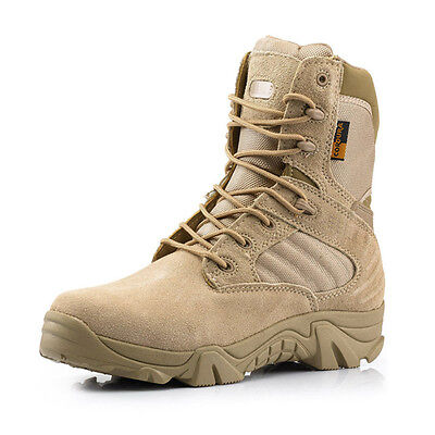 Military Tactical Shoes   Cordura Desert Combat Army Hiking Ankle Boots